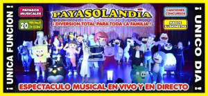 Regalamos invitaciones para Payasolandia