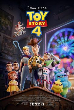 Cine Comercial. Toy Story 4