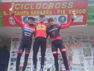 Podium final en Puente Viesgo